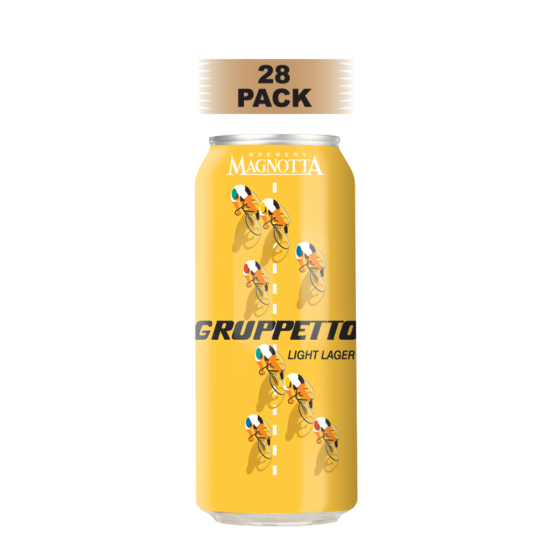Gruppetto Light Lager - 28 Pack