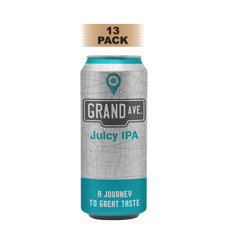 Grand Ave Juicy IPA - 13 Pack