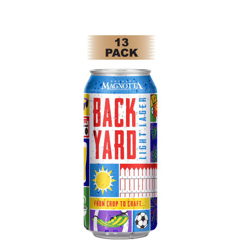 Backyard Light Lager - 13 Pack