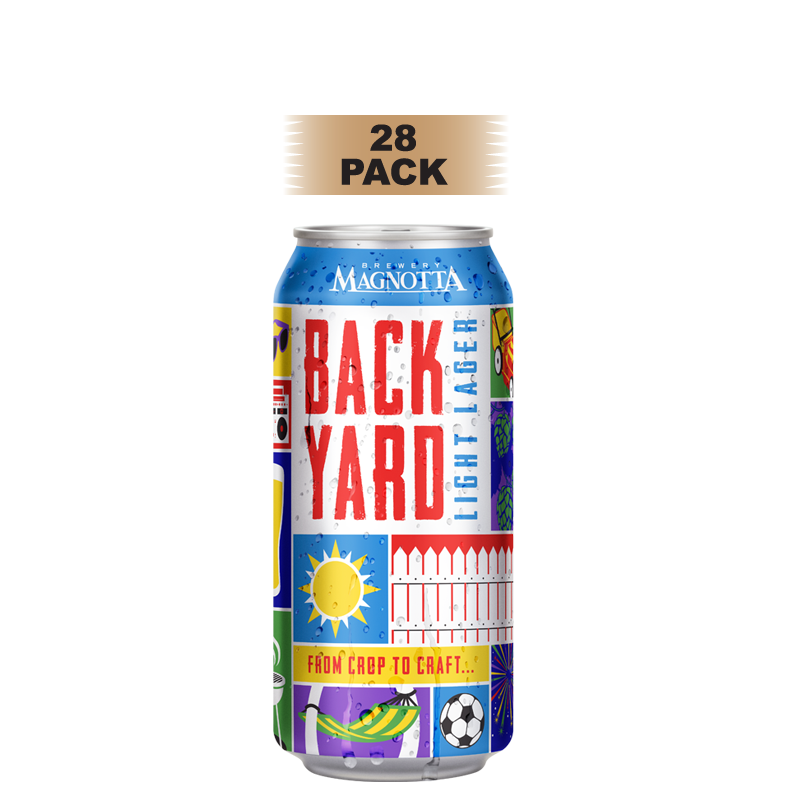 Backyard Light Lager - 28 Pack