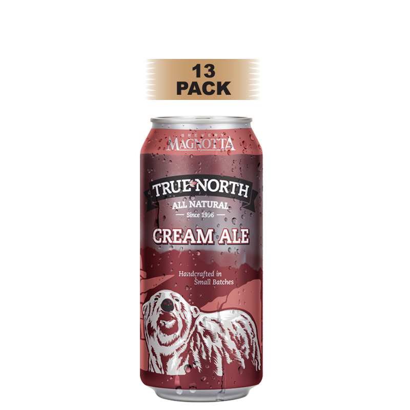 True North Cream Ale - 13 Pack
