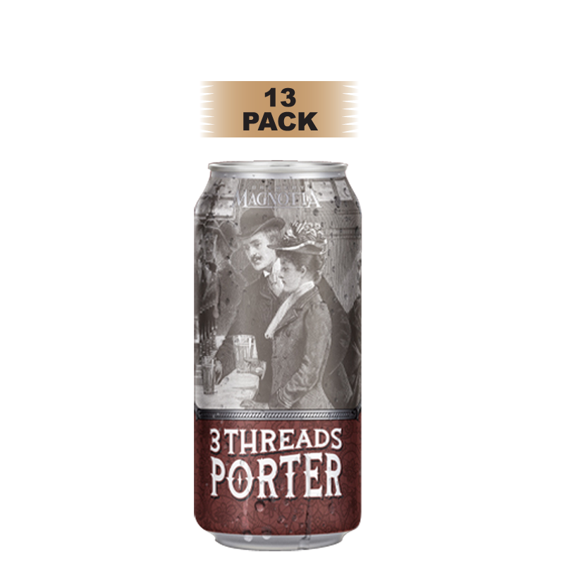 3 Threads Porter - 13 Pack