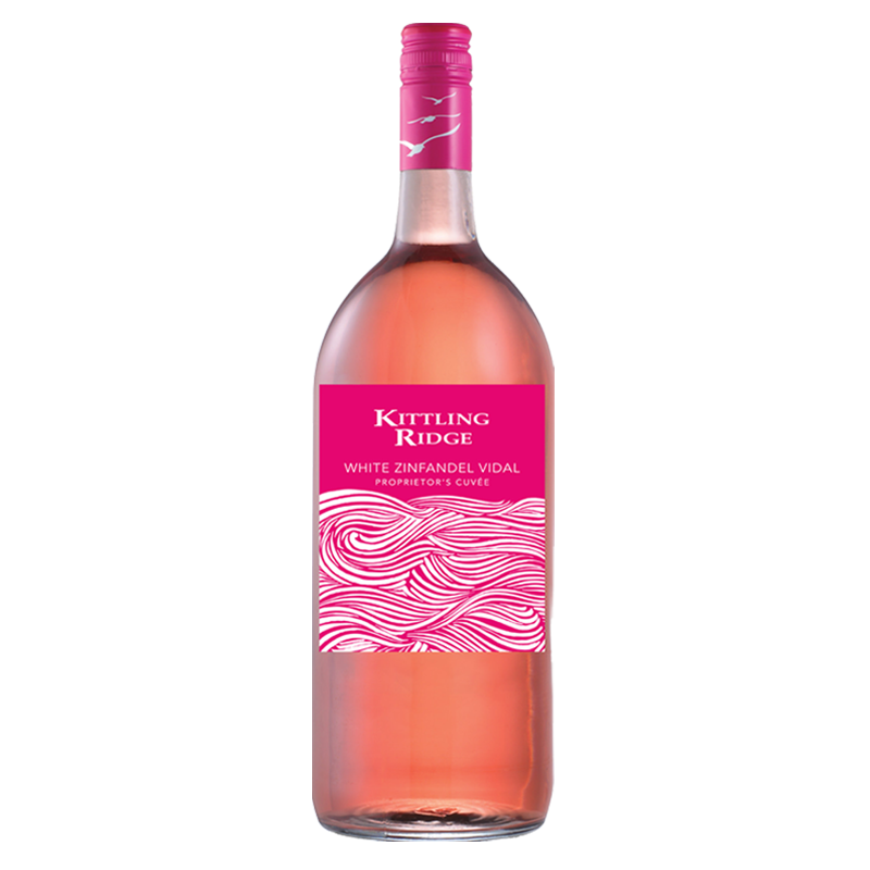 Kittling Ridge Proprietor's Cuvée White Zinfandel Vidal 1.5L