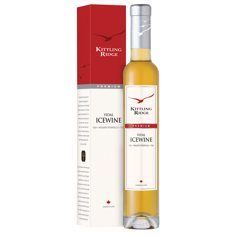 Kittling Ridge 2018 Vidal Icewine Niagara Peninsula Limited Edition VQA