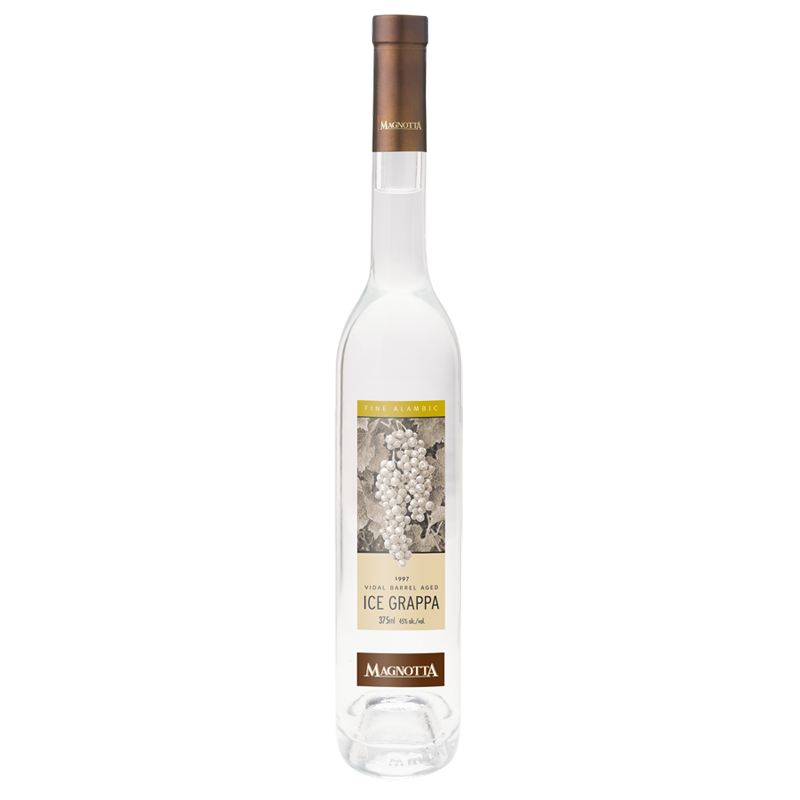 1997 Vidal Barrel Aged Ice Grappa